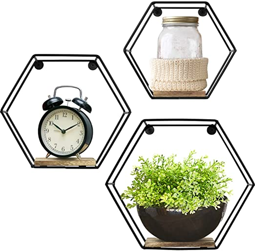 AGSIVO Wall Mounted Hexagonal