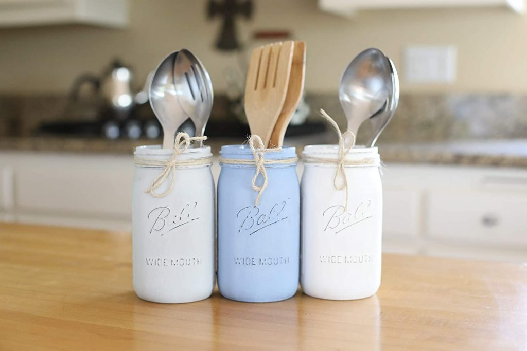 Mason Jar Kitchen Utensil Set