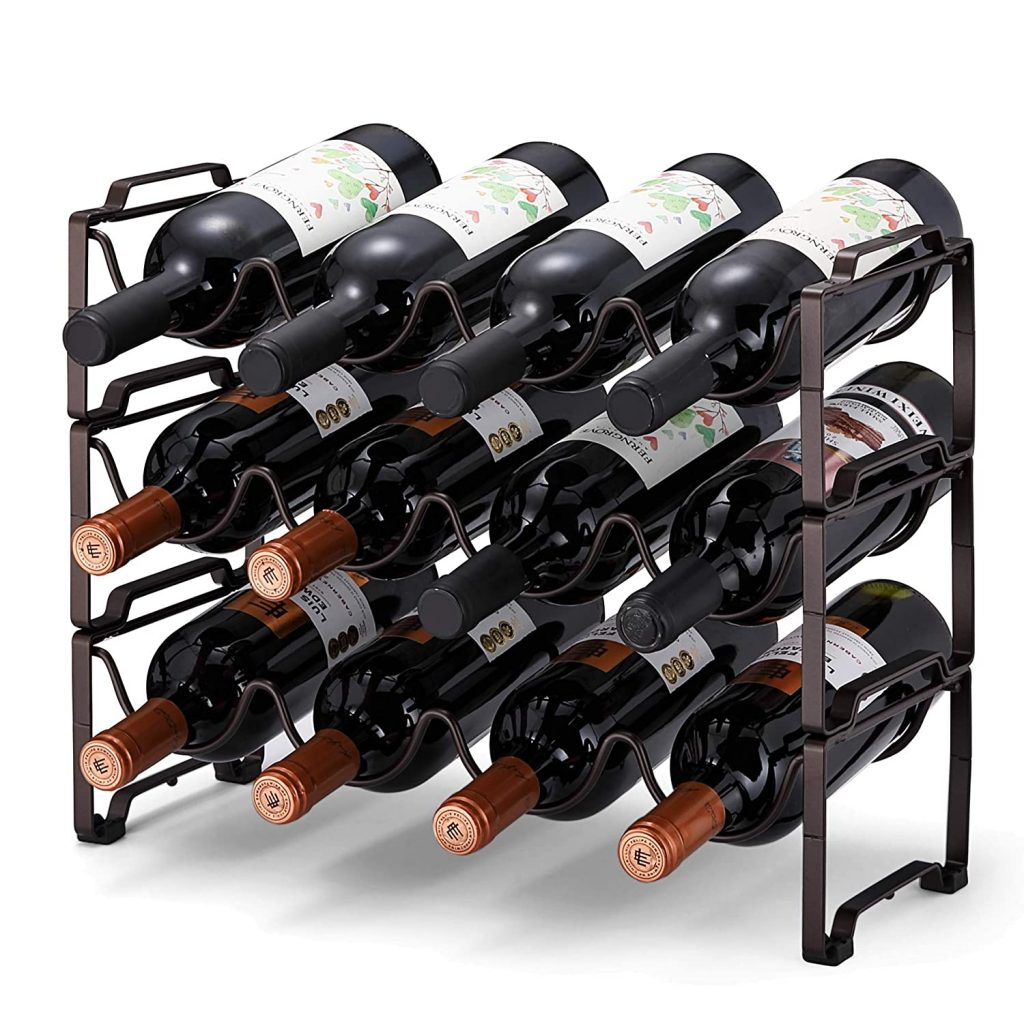 Tier Stackable Wine Rack